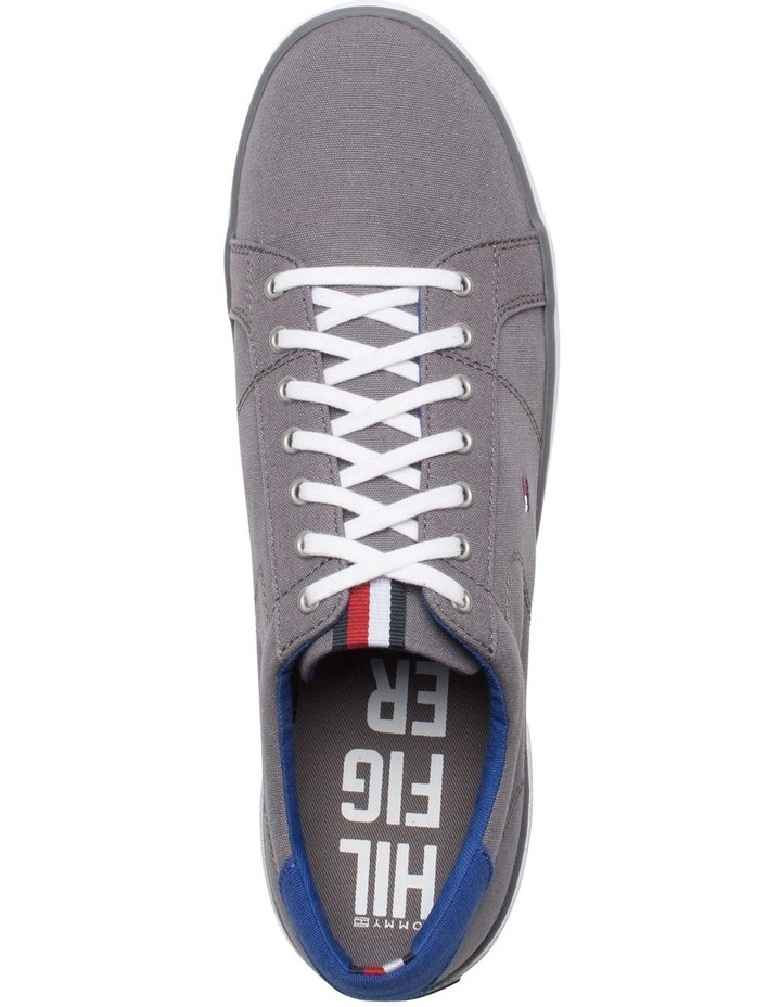 Canvas Lace Up Trainers image 3