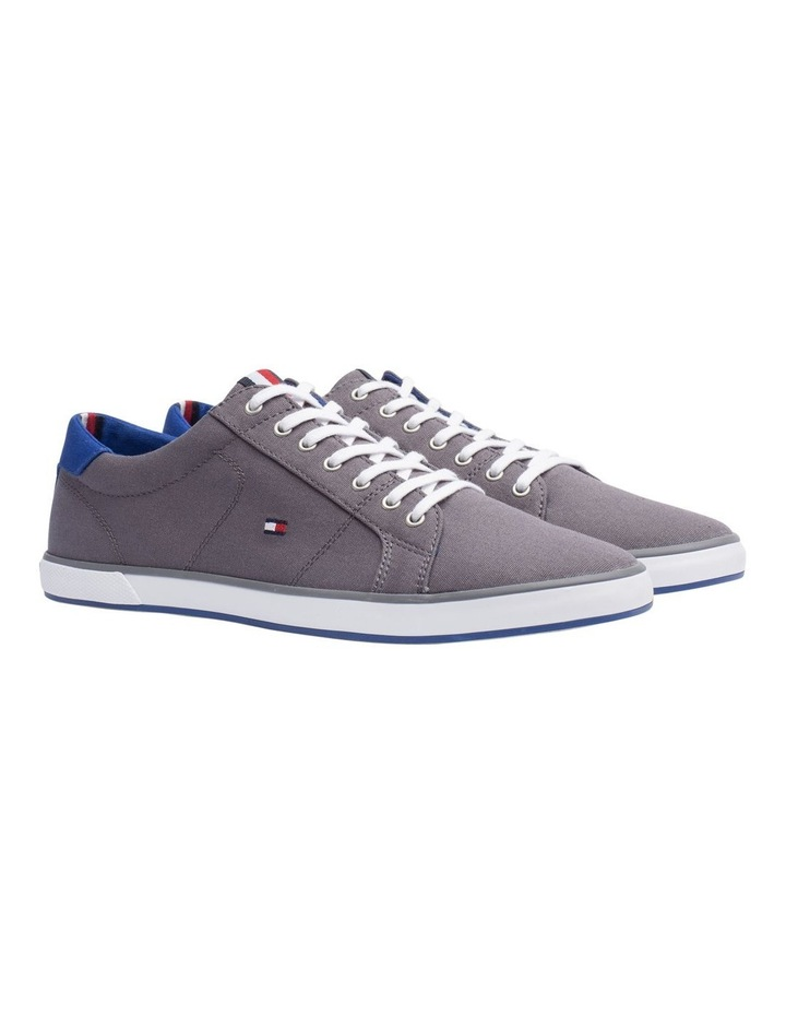 Canvas Lace Up Trainers image 4