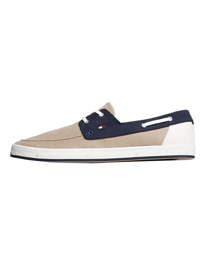 Contrast Boat Shoe Trainers image 1