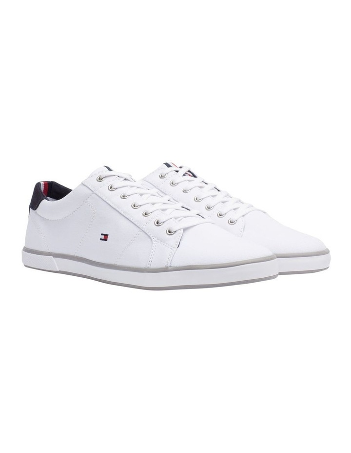 Canvas Lace Up Trainers image 7