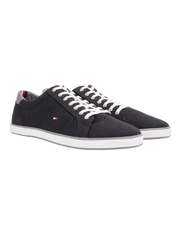 HARLOW 1D Canvas Lace Up Trainers image 2