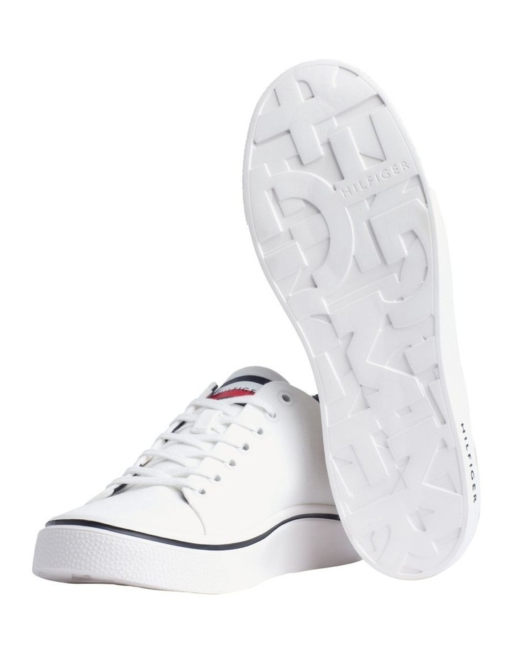 Lightweight Cotton Lace-Up Trainers image 2