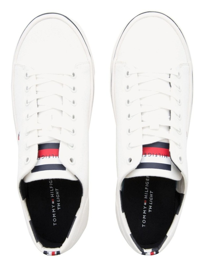 Lightweight Cotton Lace-Up Trainers image 4