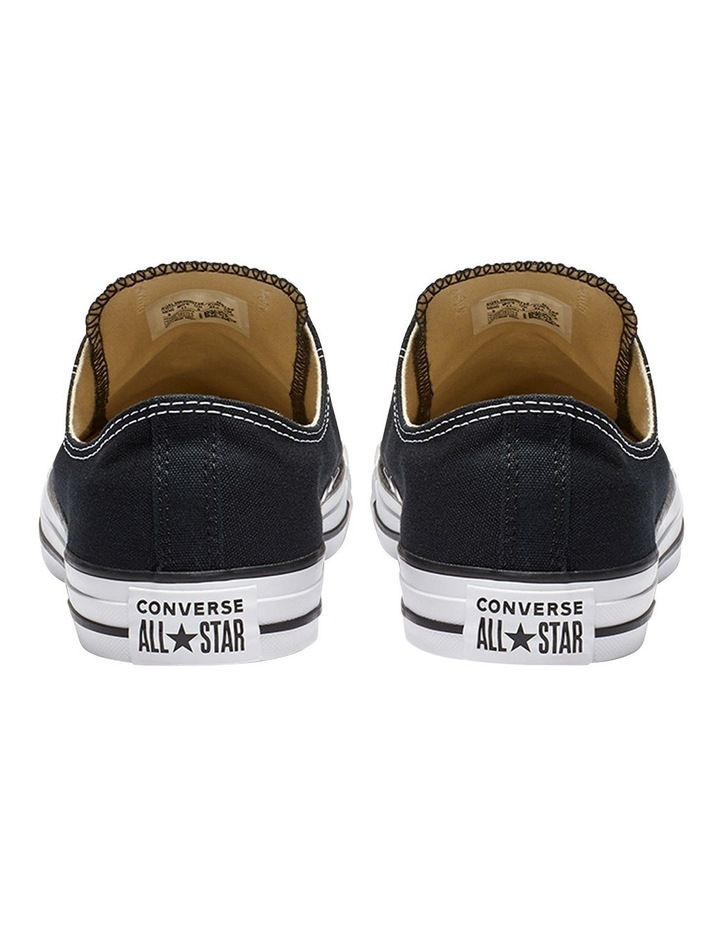 Chuck Taylor All Star Black Low Mens image 5