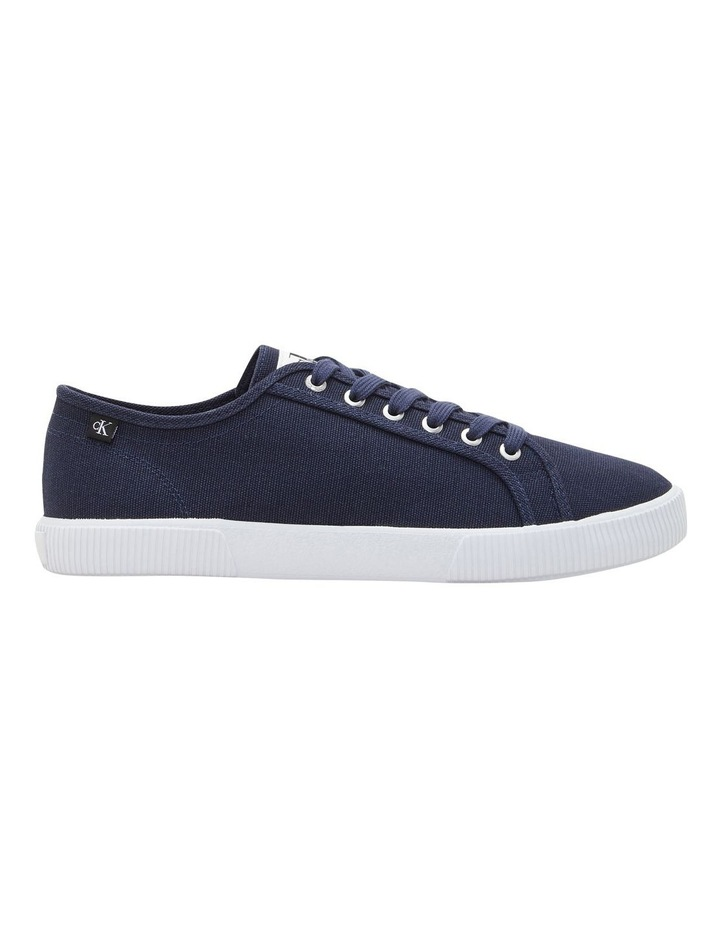 Textile Laceup Sneaker Navy image 1