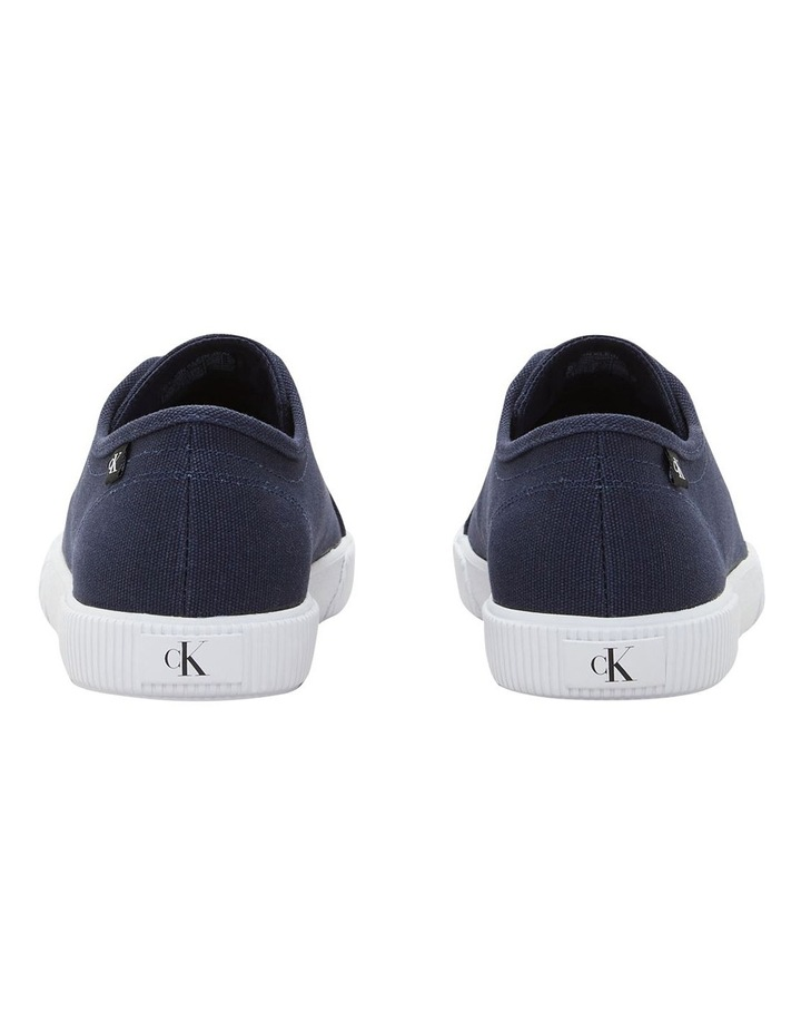 Textile Laceup Sneaker Navy image 4