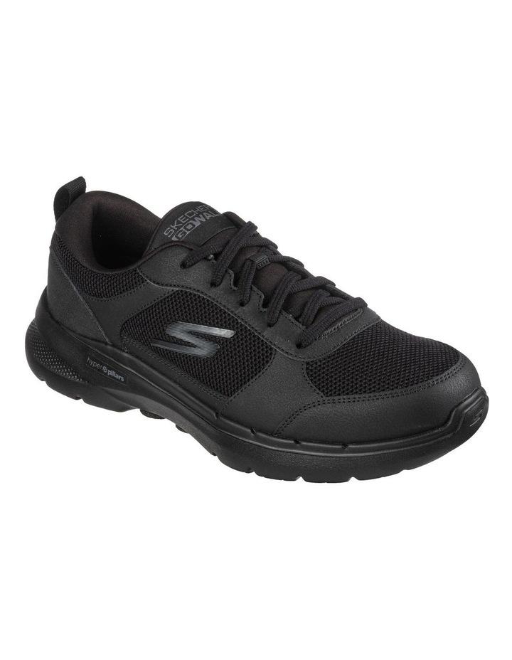 Go Walk 6 Black Sneaker image 1