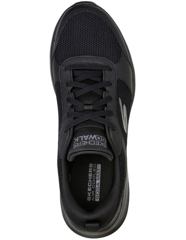 Go Walk 6 Black Sneaker image 4