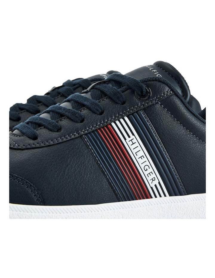 Core Corporate Leather Navy Cupsole Sneaker image 4
