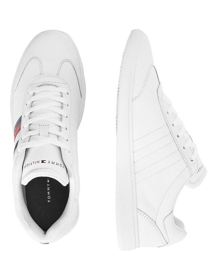 Core Corporate Leather White Cupsole Sneaker image 2