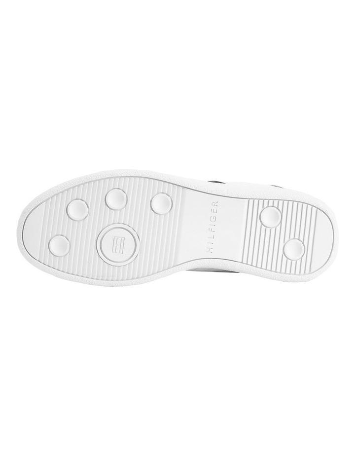 Core Corporate Leather White Cupsole Sneaker image 3