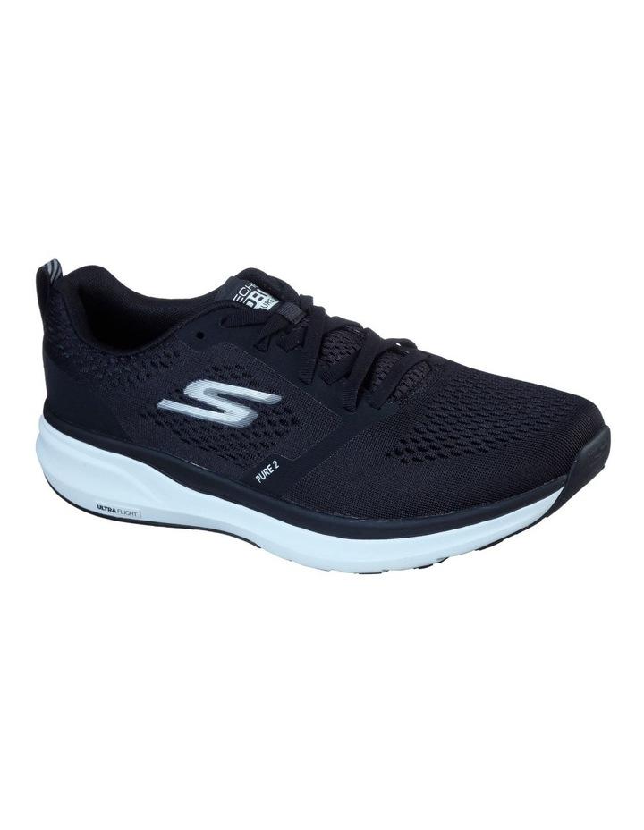 Pure 2 Running Shoe Black/White image 1