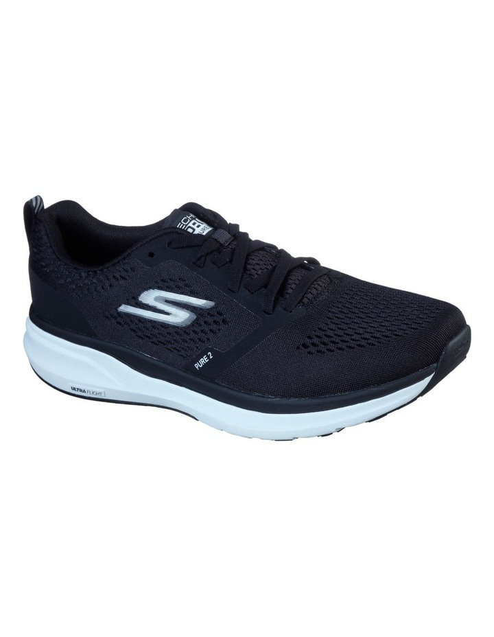 Pure 2 Running Shoe Black/White image 2