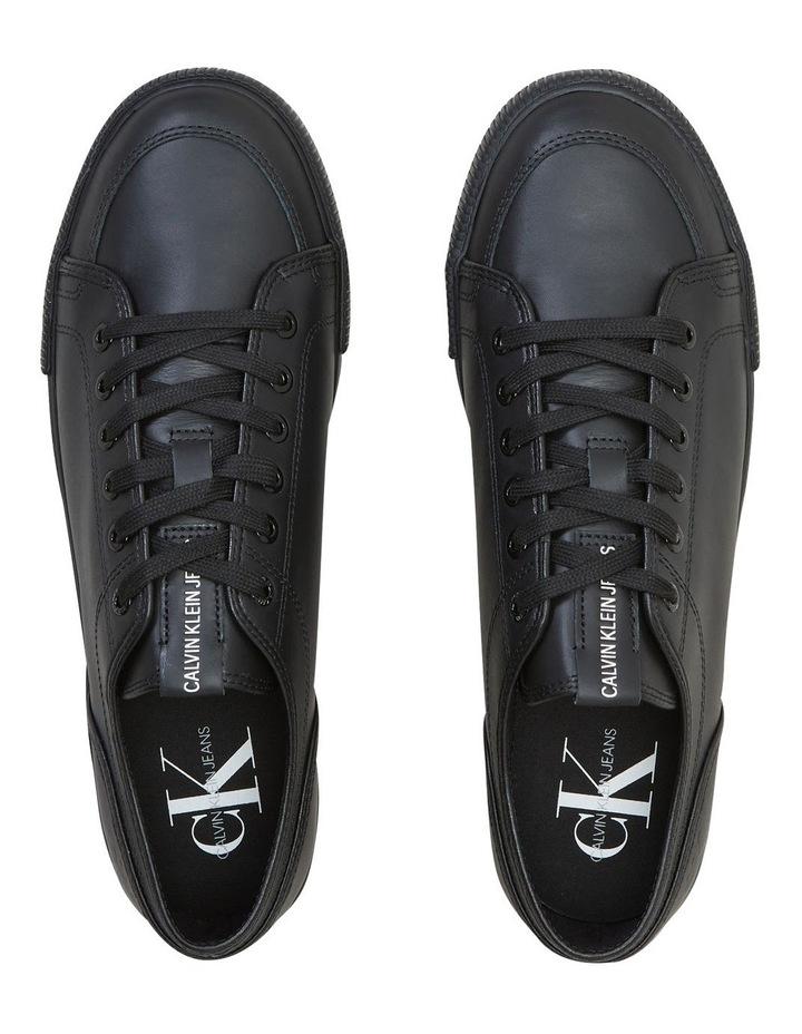 Ess Vulc Laceup Sneaker  Black image 3
