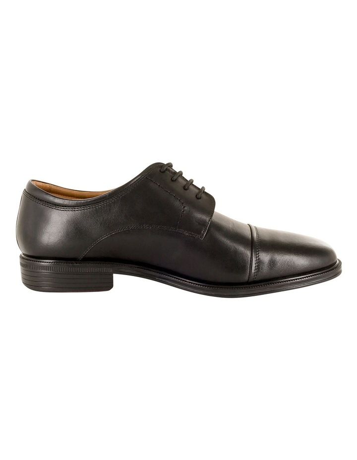 Chester Toe Cap Lace Up Derby - Black image 1