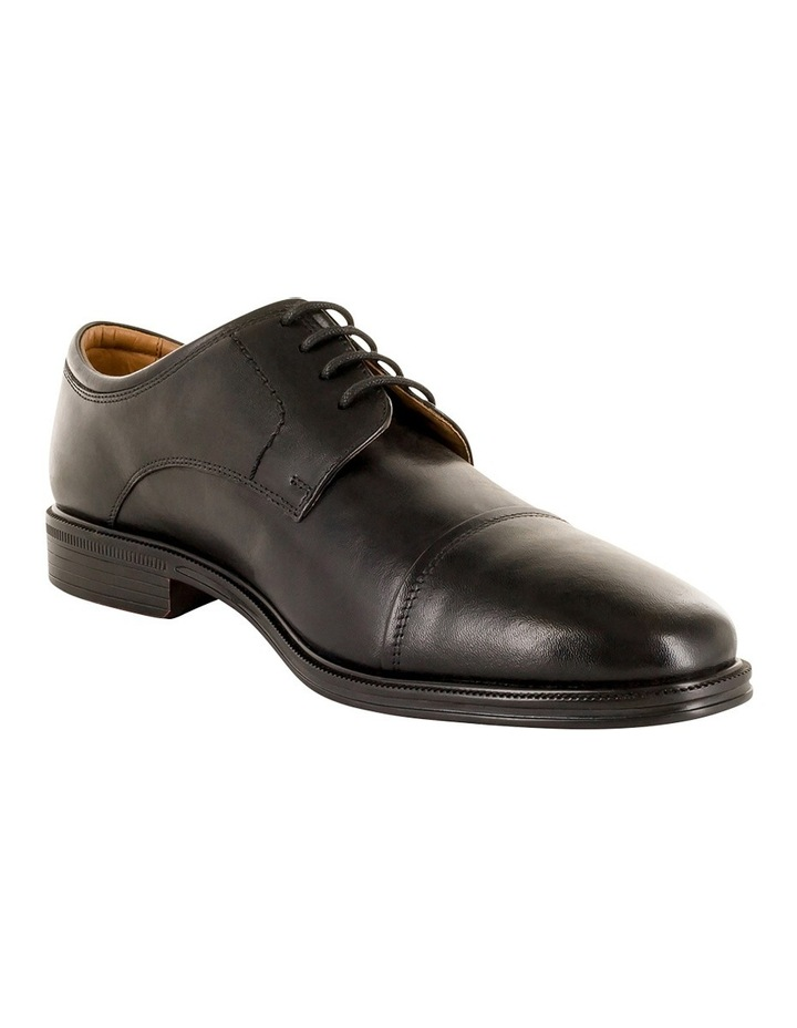Chester Toe Cap Lace Up Derby - Black image 2