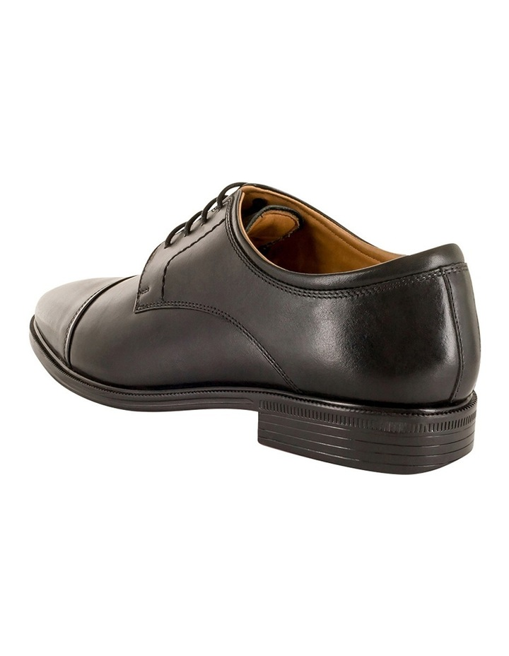 Chester Toe Cap Lace Up Derby - Black image 3