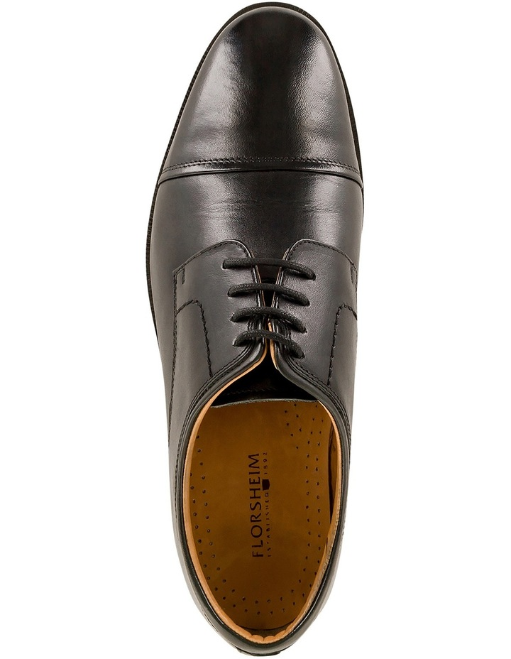 Chester Toe Cap Lace Up Derby - Black image 4