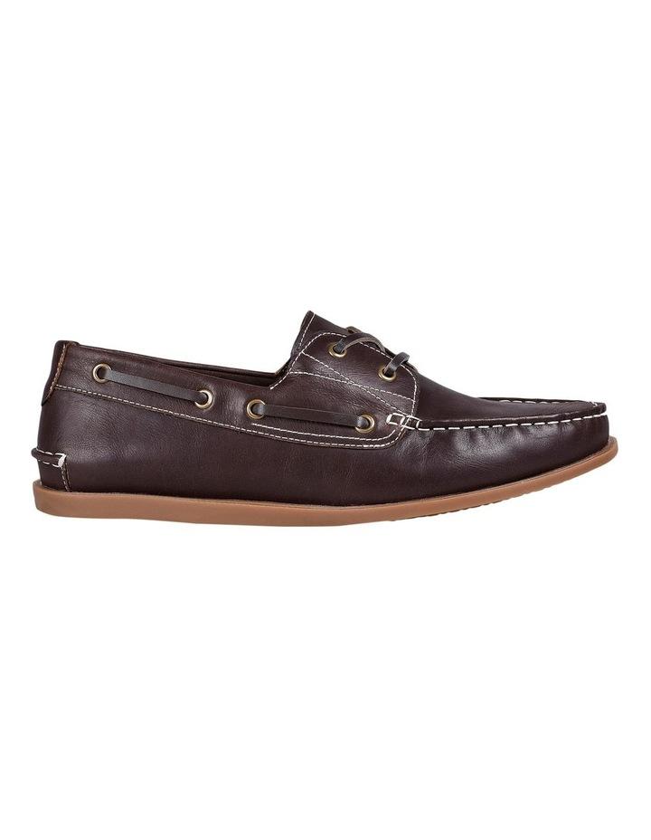 Leader Leather Boat Shoe Mahogany image 1