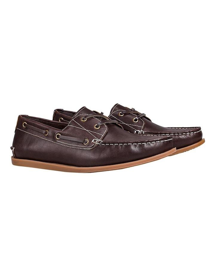 Leader Leather Boat Shoe Mahogany image 2