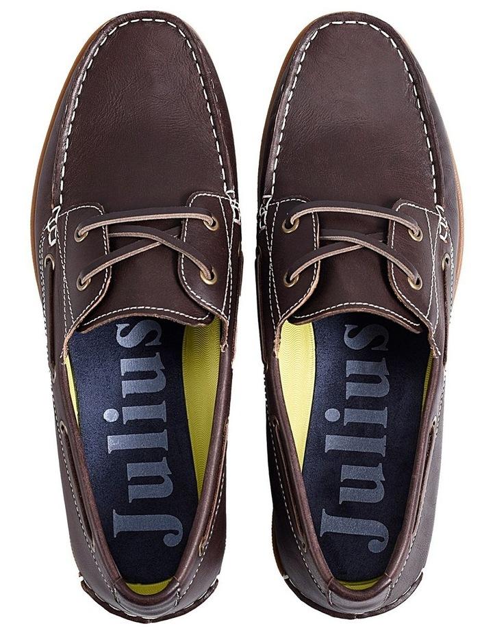 Leader Leather Boat Shoe Mahogany image 3