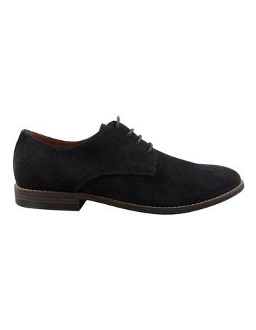 918edfe08896 BlaqNick Suede Perforated Lace Up Derby