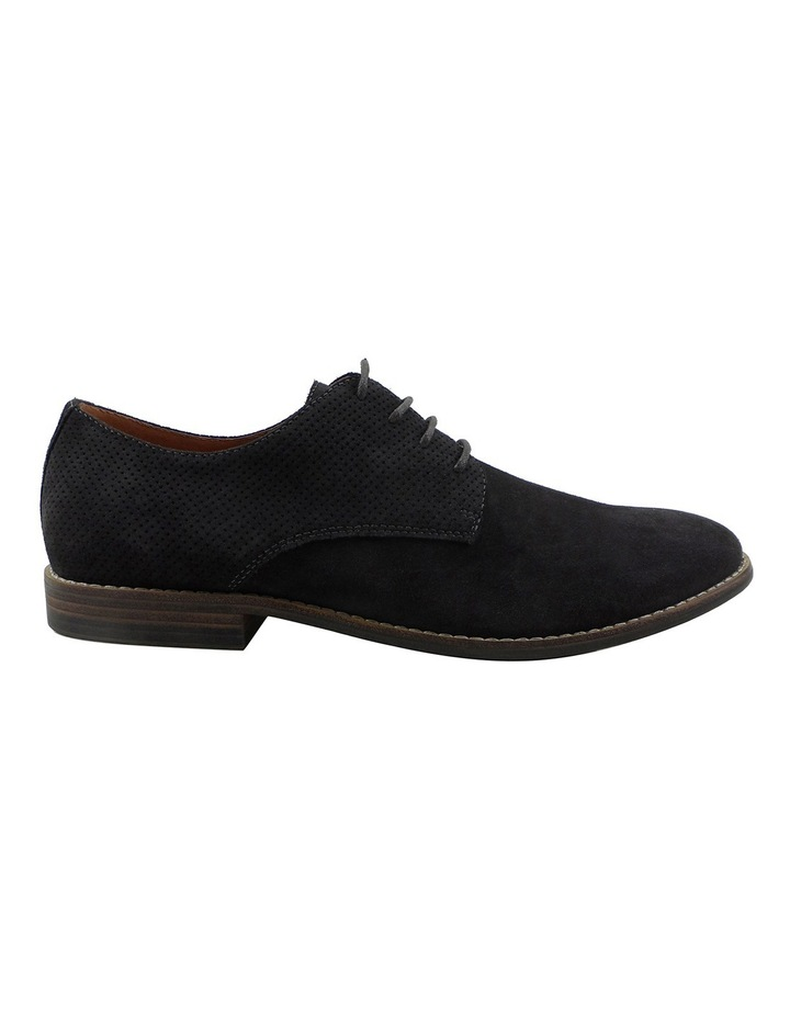 Nick Suede Perforated Lace Up Derby image 1