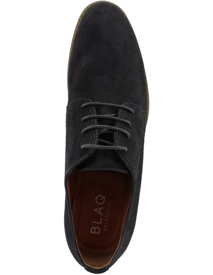 Nick Suede Perforated Lace Up Derby image 4