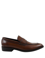 Brookes Leather Penny Loafer by Trent Nathan