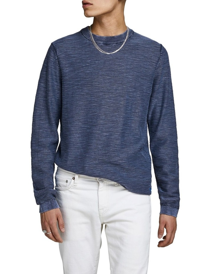 Navy Pullover Knit image 1