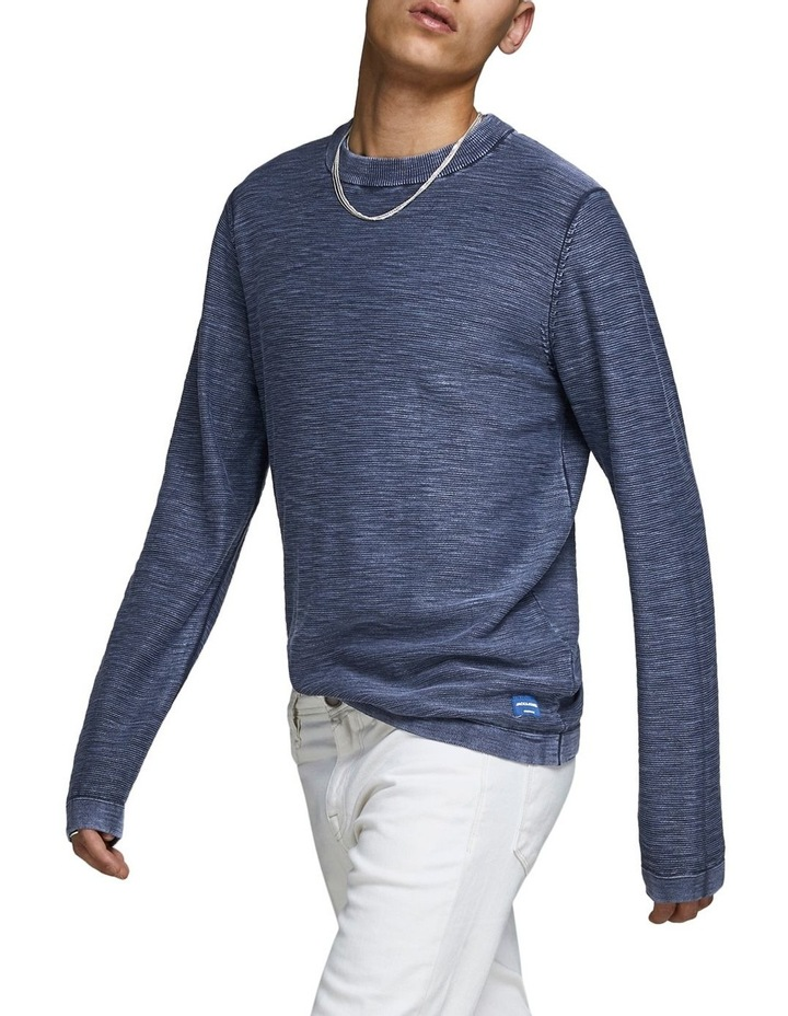 Navy Pullover Knit image 3
