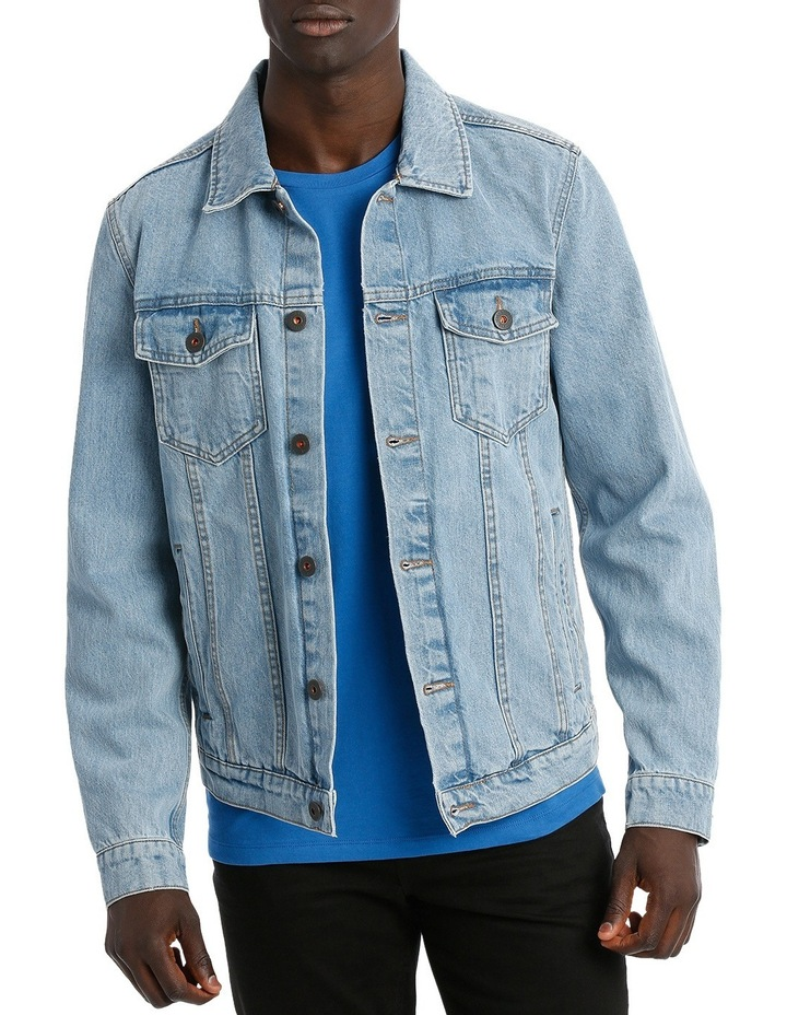 ART DENIM JACKET image 1