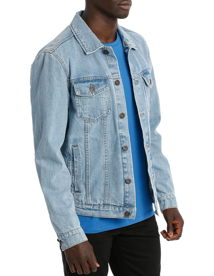 ART DENIM JACKET image 2