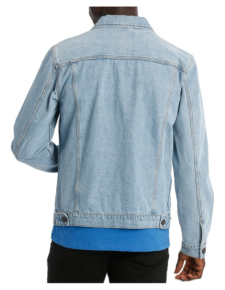 ART DENIM JACKET image 3