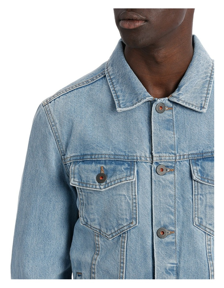 ART DENIM JACKET image 4