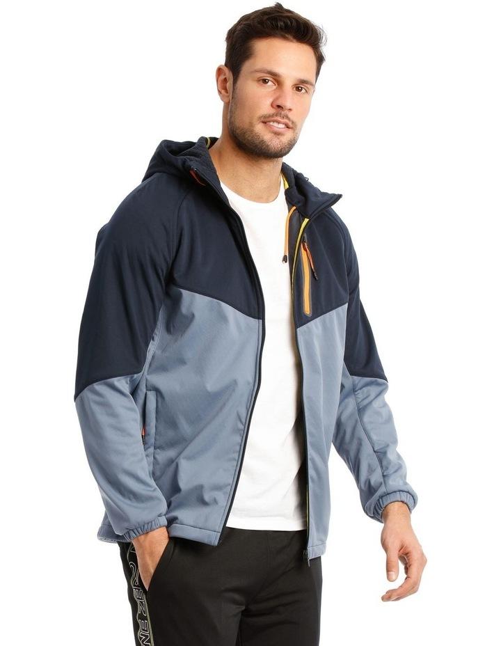 Hooded Softshell Jacket. image 1