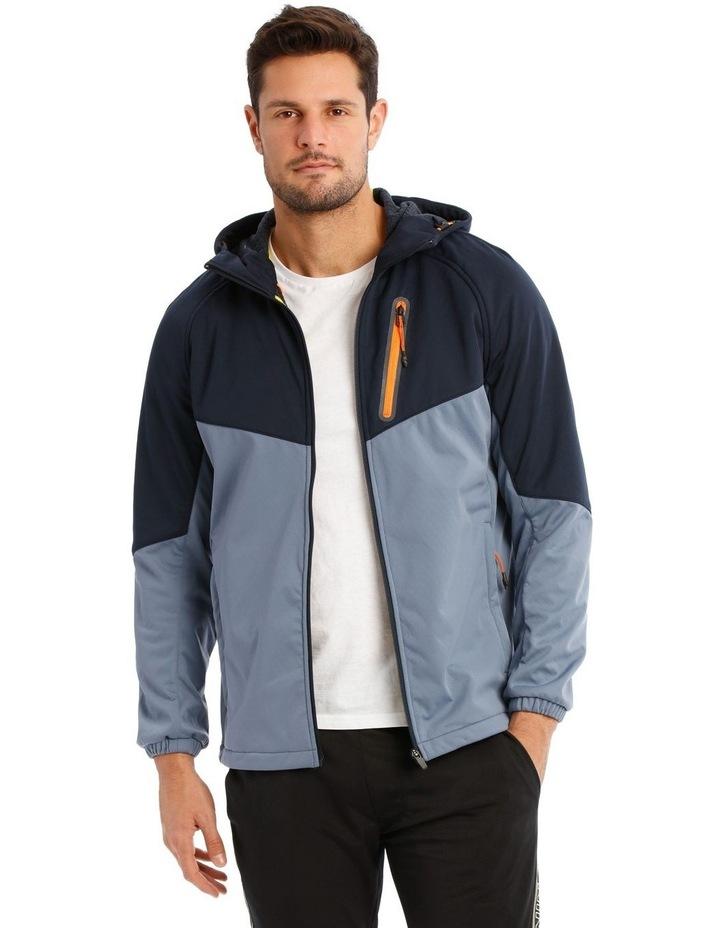 Hooded Softshell Jacket. image 2
