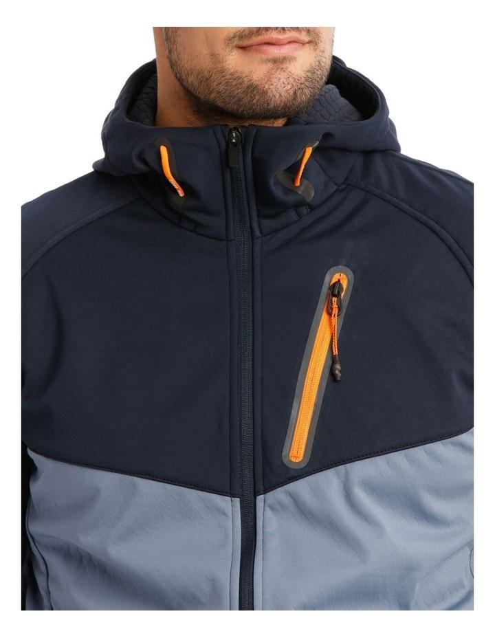 Hooded Softshell Jacket. image 4