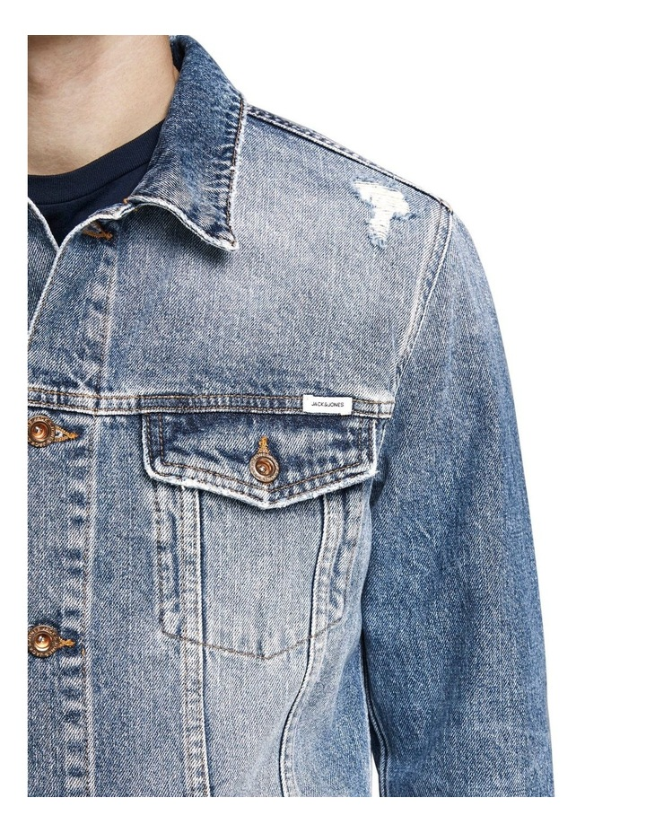 Ripped Denim Jacket image 3