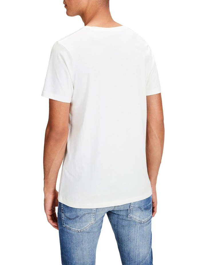 Sup Tee Short Sleeve Crew Neck In Cloud Dancer image 2