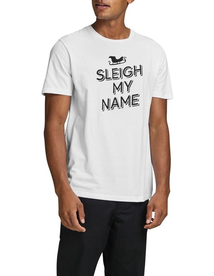 White Pun T-Shirt image 1