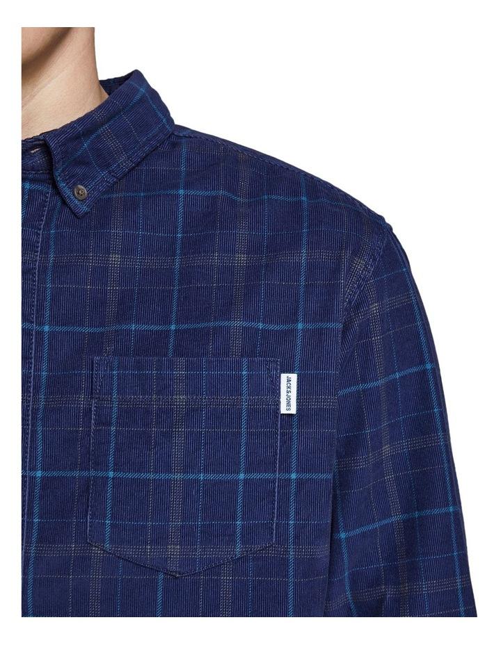 Cody Check Corduroy Shirt image 4