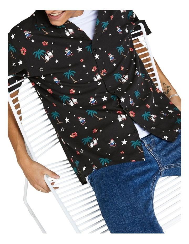 Santa Printed Shirt image 4