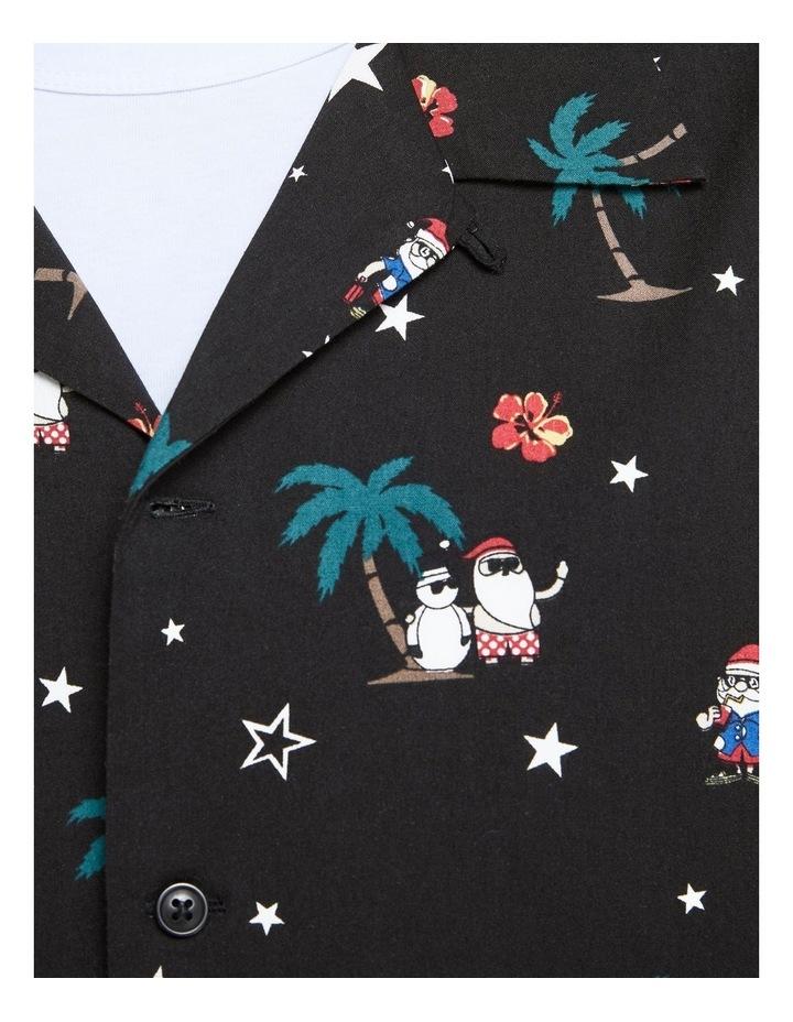 Santa Printed Shirt image 5