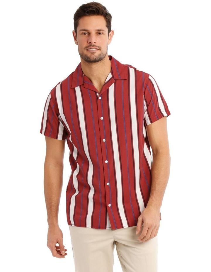 Wade Stripe Short Sleeve Shirt image 1