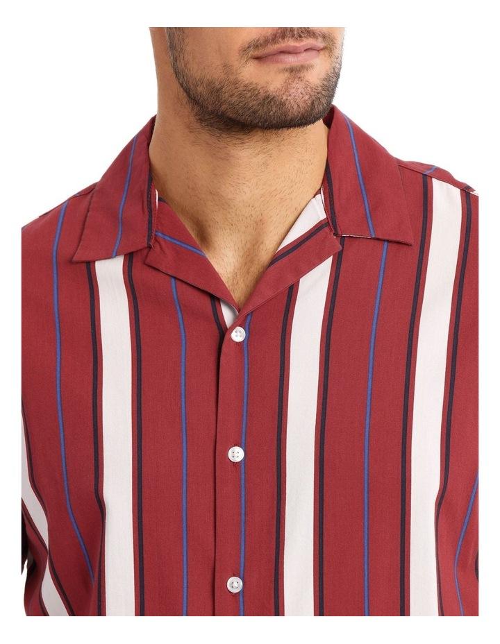 Wade Stripe Short Sleeve Shirt image 4