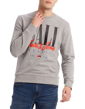 131753ff6d33c Jack & Jones Art Sign Sweat Crew Neck