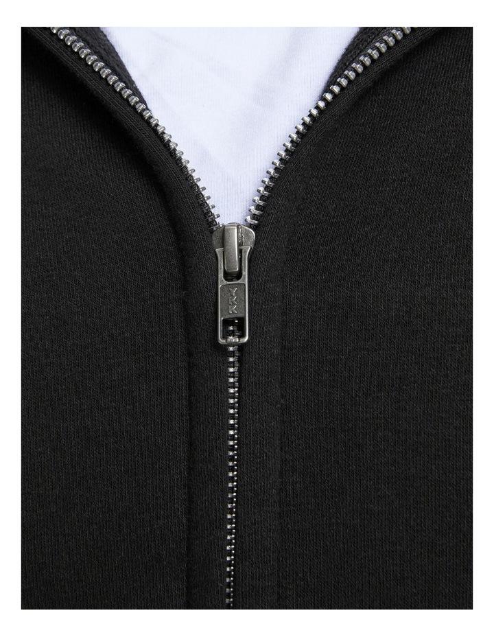 Space Melange Sweat Zip Hood image 5