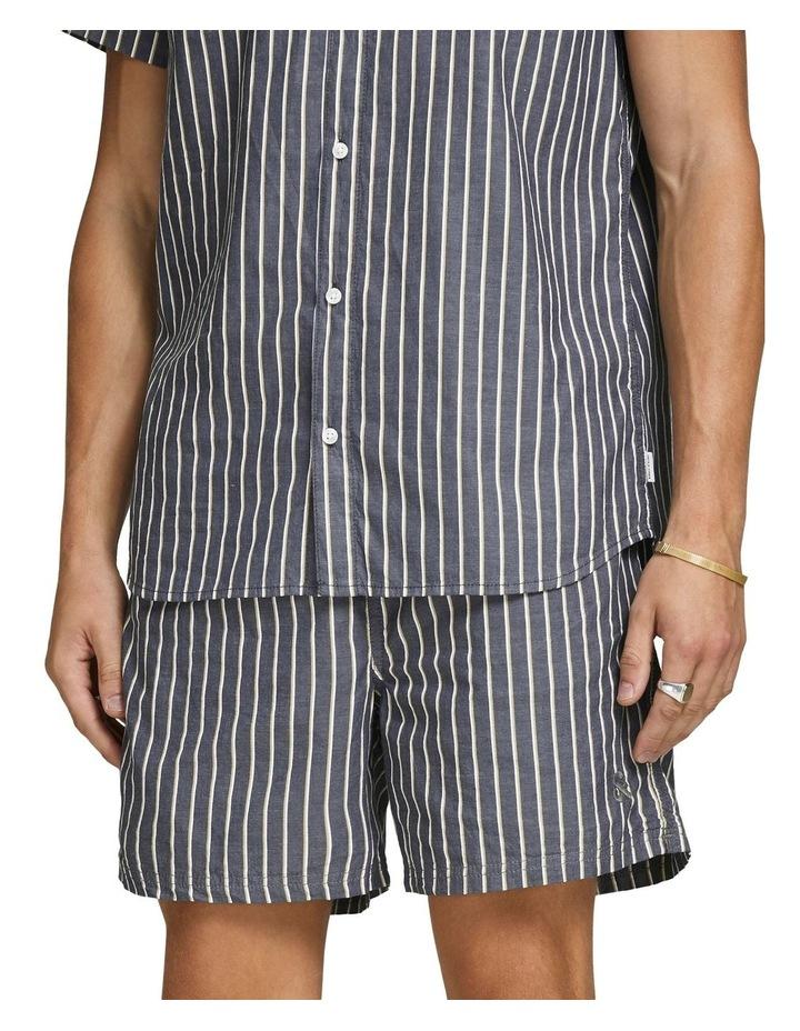 Linen Jogger Shorts image 1