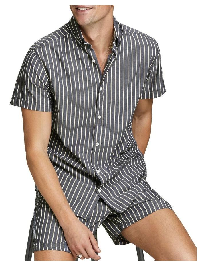 Linen Jogger Shorts image 4